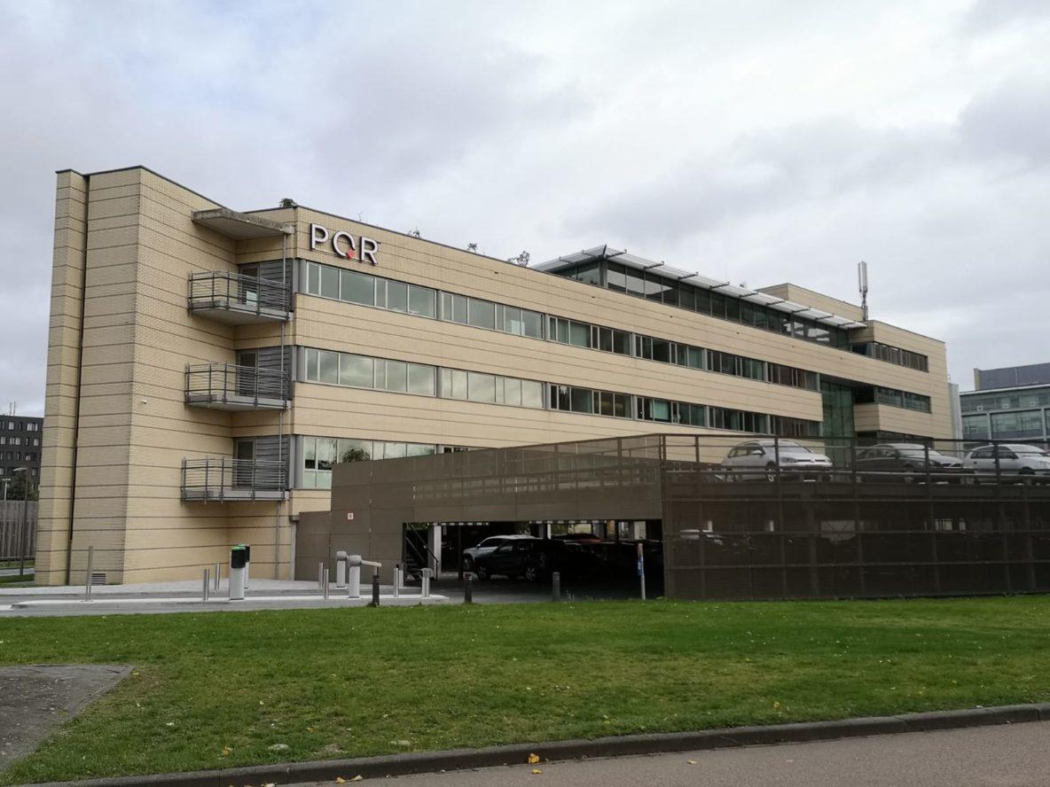 Het nieuwe kantoor van PQR op de Secoya-campus