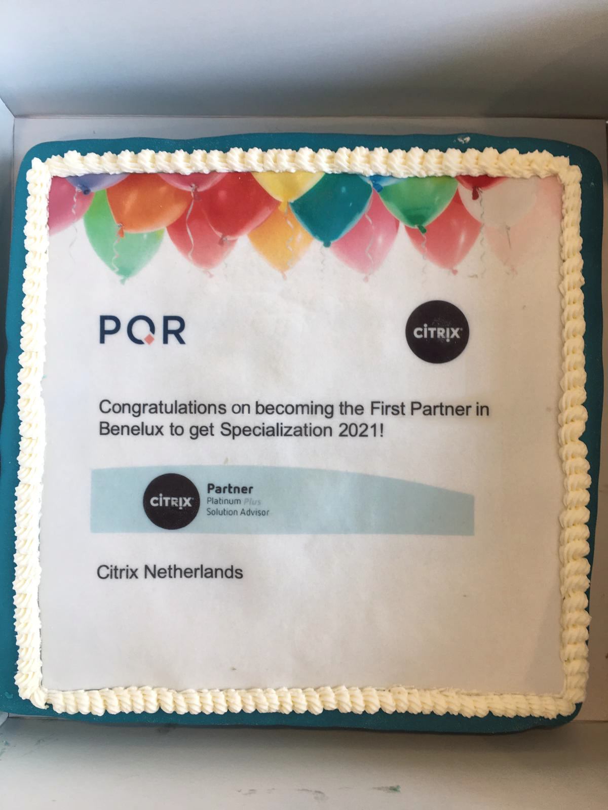 PQR is Citrix Platinum Plus Partner